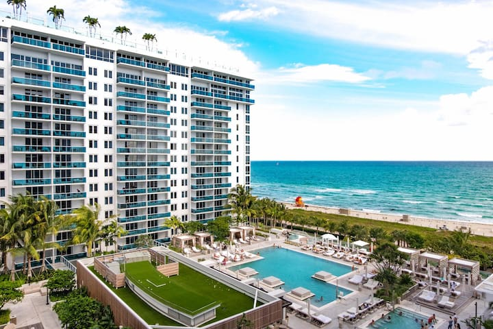 Luxurious Ocean Front Resort In South Beach - Miami Beach - Daire