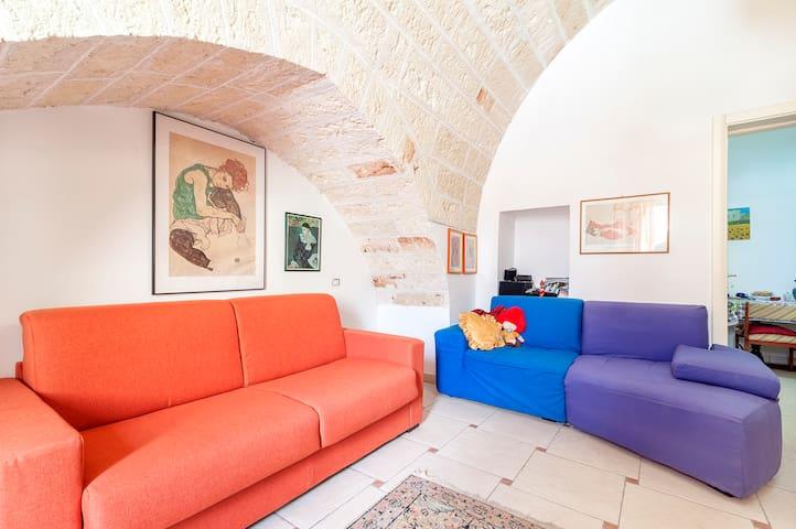 Casa con terrazza in centro storico - Nardò - Apartmen