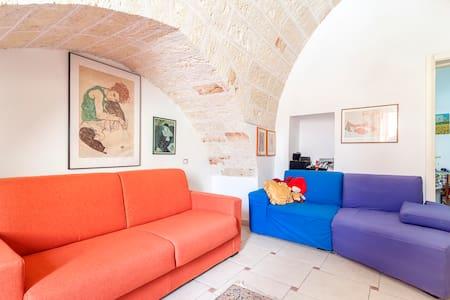 Casa con terrazza in centro storico - 纳尔多 - 公寓