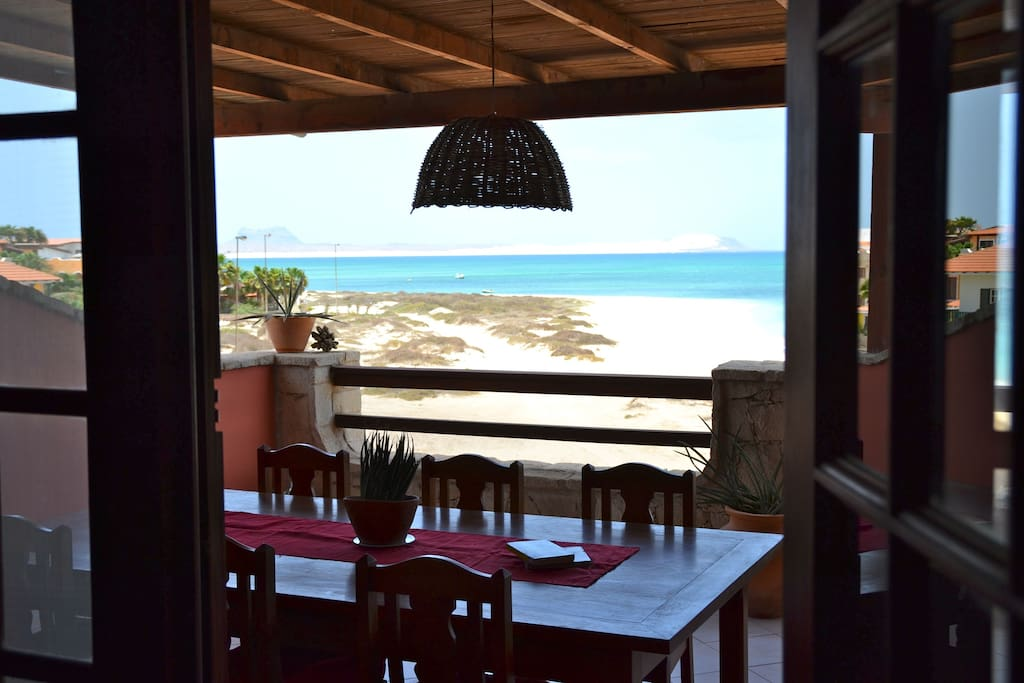 Have a balcony with a superb view to the Bay of Sal Rei.
