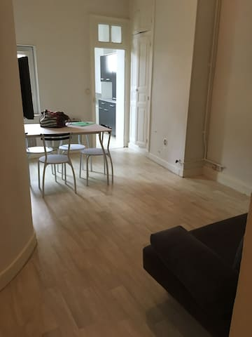 Appartement de ville et calme