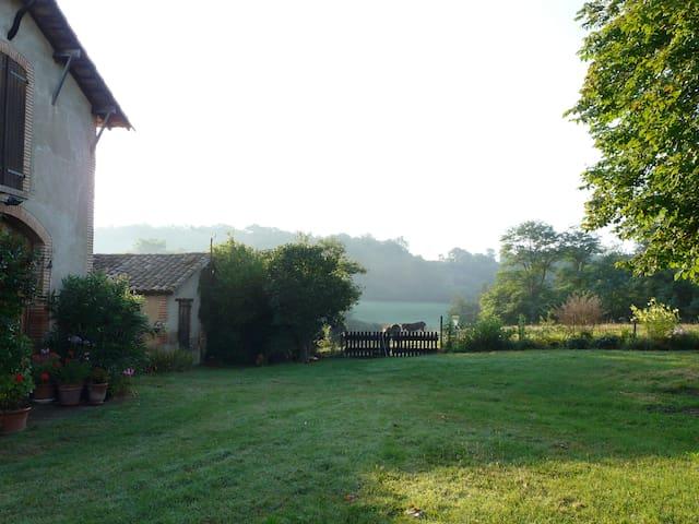 Le Gîte du Val Bio d'Azau 6 à 8 pl - Gensac-sur-Garonne