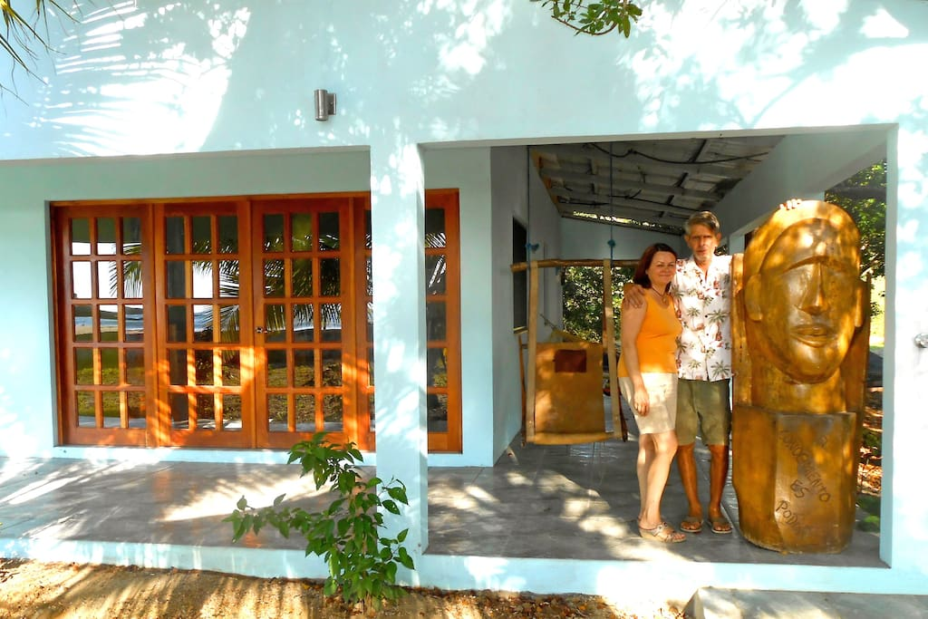 You are welcome in our casita azul - home away from home - Ivona & Jim