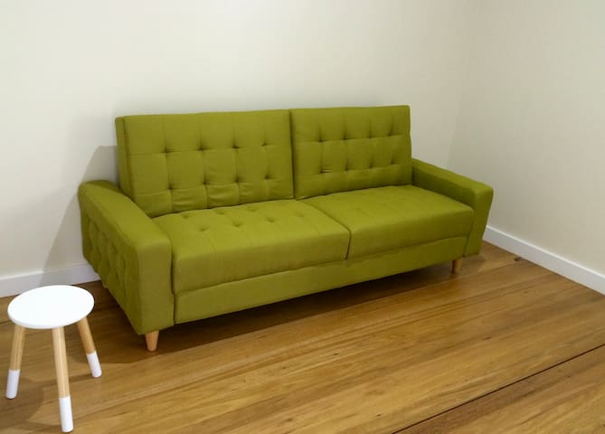 Sofa bed / futon downstairs