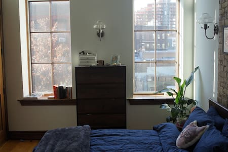 Cozy room in the sunniest apt on Williamsburg! - Brooklyn