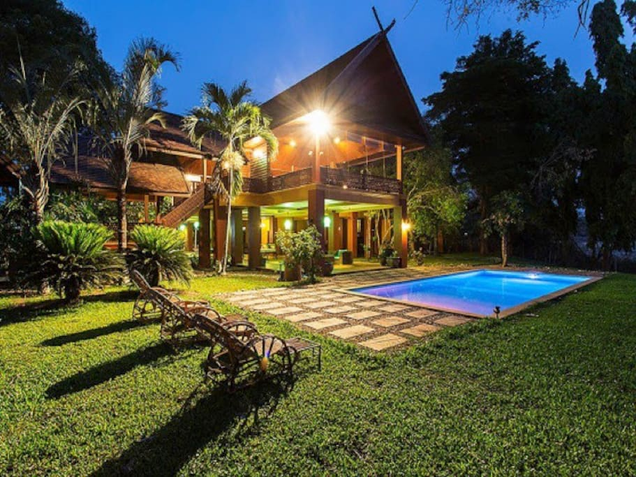 Paradise 7bd6ba private pool houses for rent in chiang mai thailand chiang mai thailand for Chiang mai house for rent swimming pool