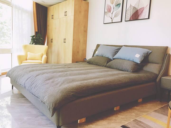 欢乐里【大美好】北欧简风,超大落地窗,新房体验价。