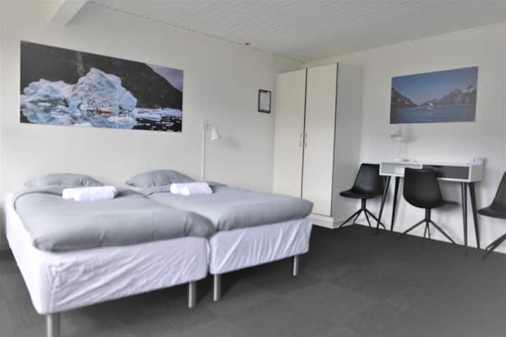 Nuuk City Hostel, Private Double Room