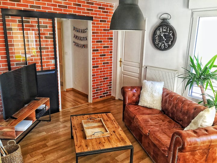Appartement cosy au coeur du Mans