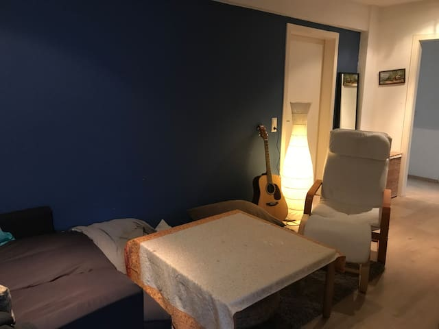 Private room in a 3 room shared Flat.