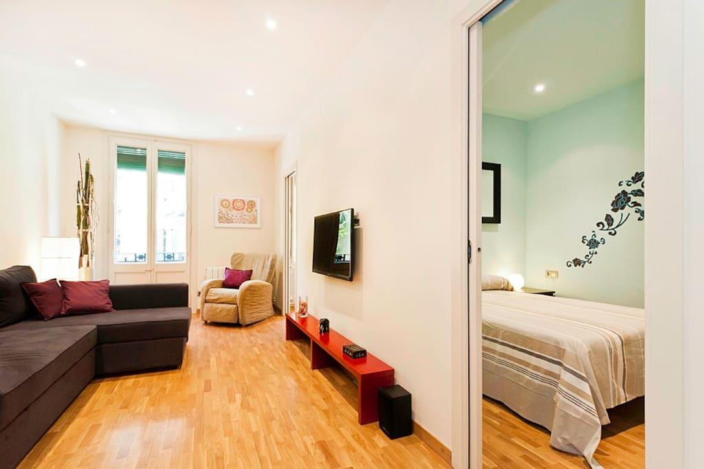 Modern near the fira appartamenti in affitto a for Affitti appartamenti barcellona spagna