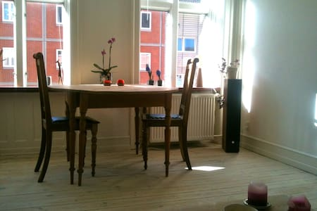 Really cozy apartment with 2 bikes - Frederiksberg
