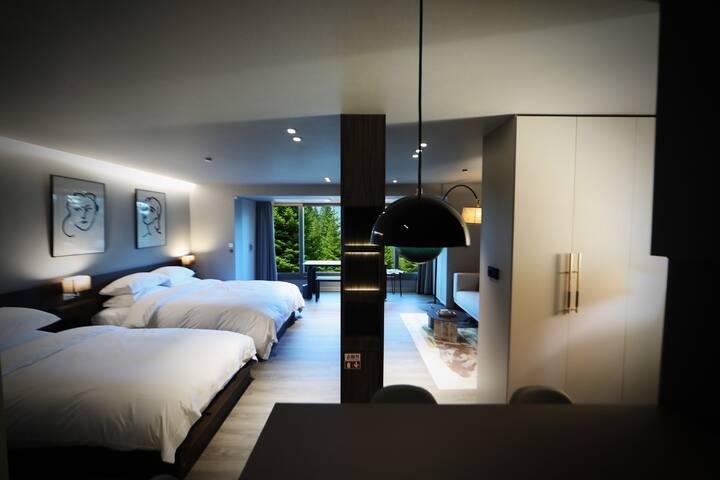 Spacious Luxury Finest Studio Suite in Gangnam