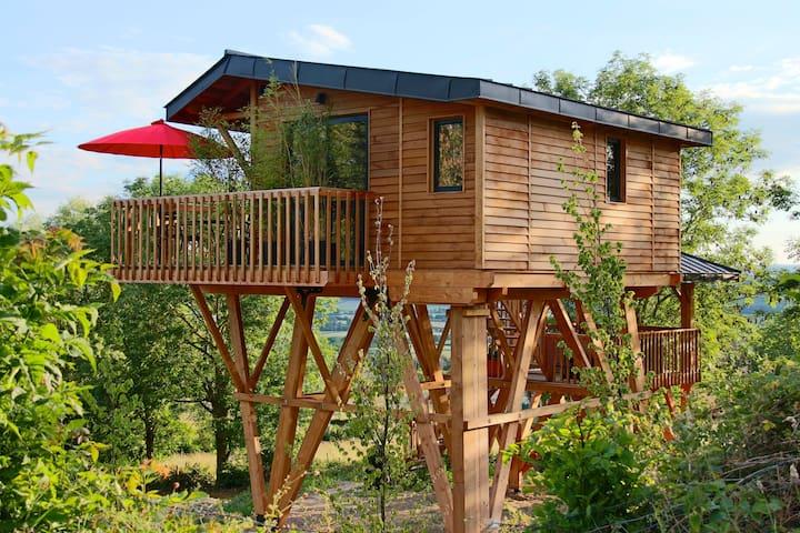 Une Cabane Spa d'exception - Mont-Saint-Jean