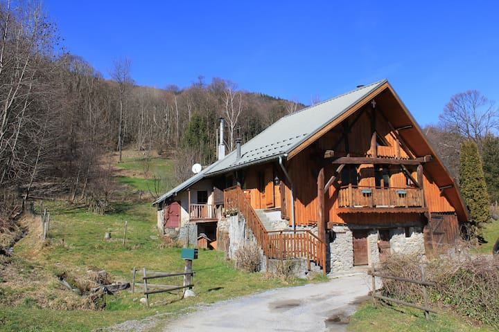 Chalet de caractère en Savoie - Saint-Alban-des-Hurtières