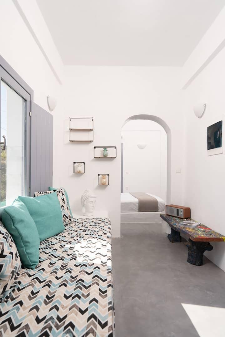 Occhio Santorini,Blue house