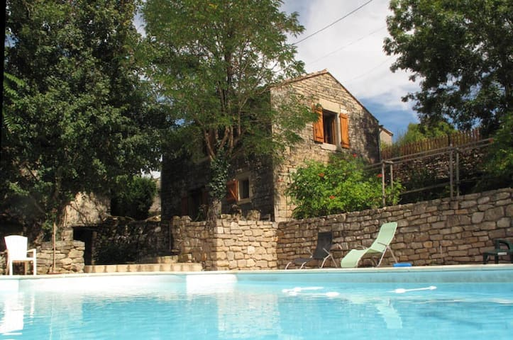 Converted Barn with pool and view - Penne - Rumah