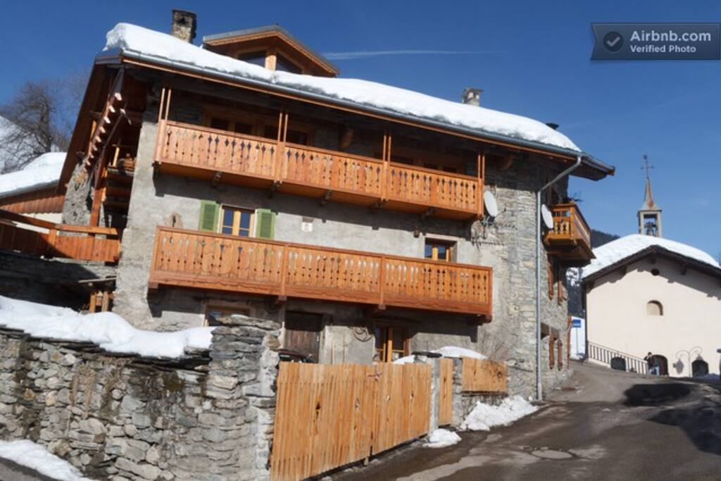 Chalet Tarine in February