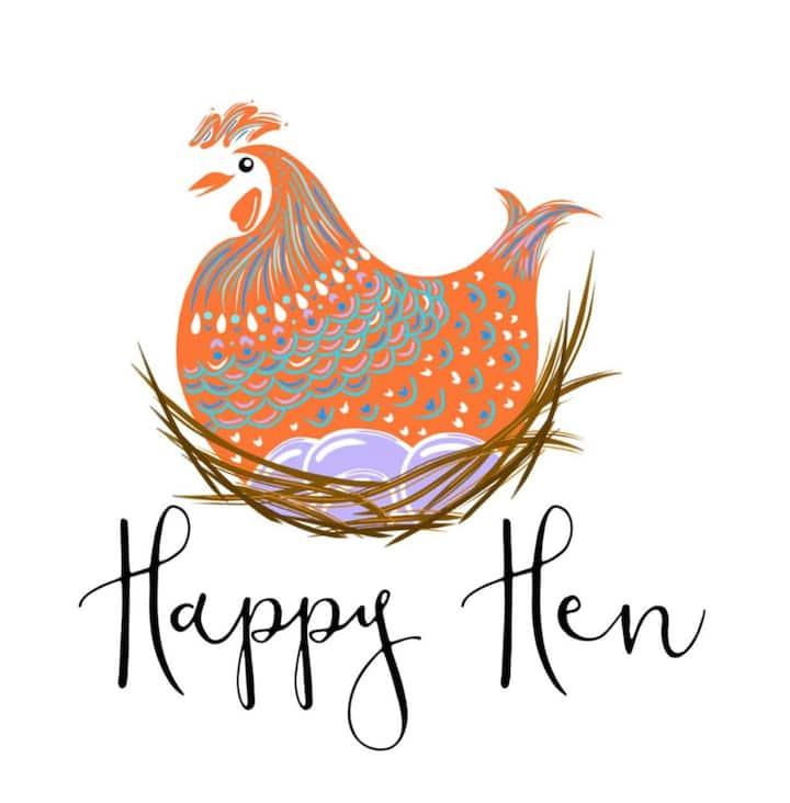 Happy Hen Loft @The Farmhouse