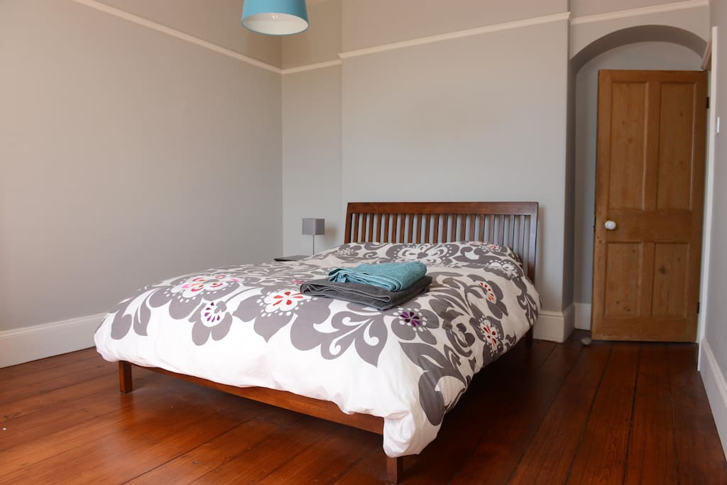 Double Bedroom with ensuite shower and loo