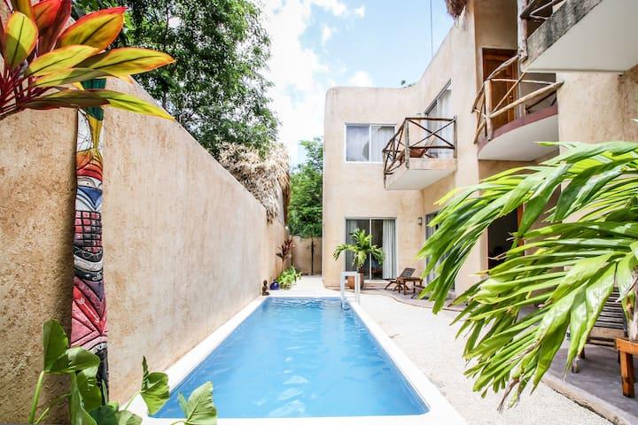 Villas Colibri Tulum, Modern & Quiet Jungle Studio