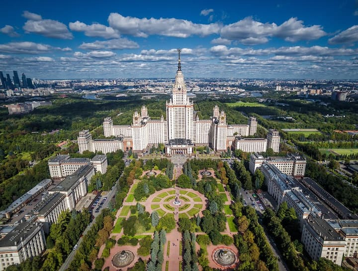 Moscow State Unviersity apartment