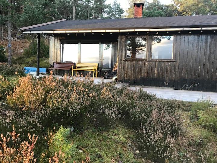 Ekte hytte i Ryfylke
