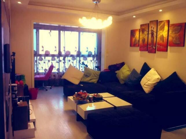 贵阳市中心温馨的48楼顶层小户型 - Guiyang Shi - Apartamento