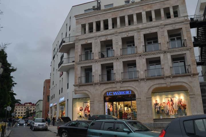 Near sea, boulevard, in old Batumi