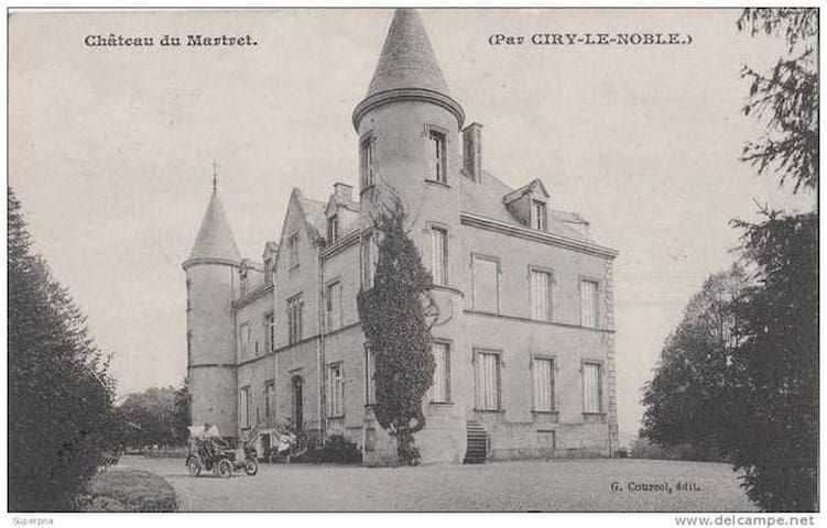 Château in Southern Burgundy