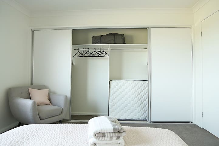 Spare single mattress which goes on the floor should you need it for the 7th guests