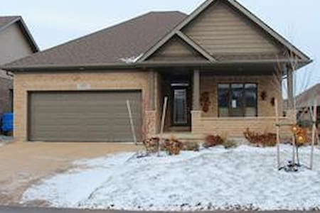Centrally located between Kitchener & Stratford
