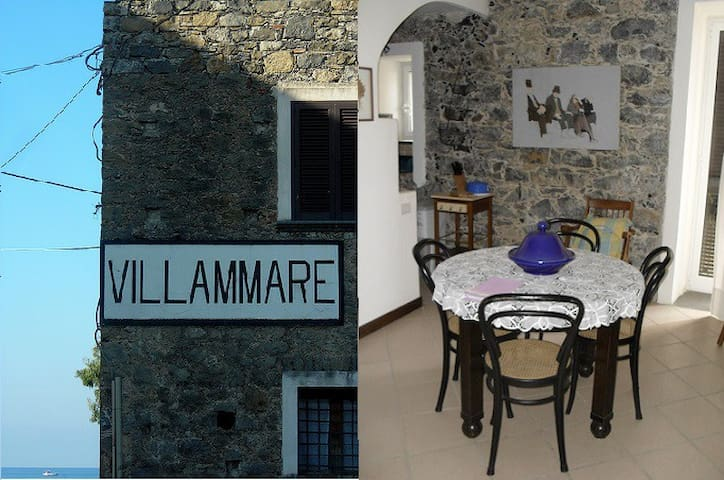 La Casa Blu,apartment in Villammare - Villammare - Apartment