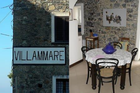La Casa Blu,apartment in Villammare - Villammare - Huoneisto
