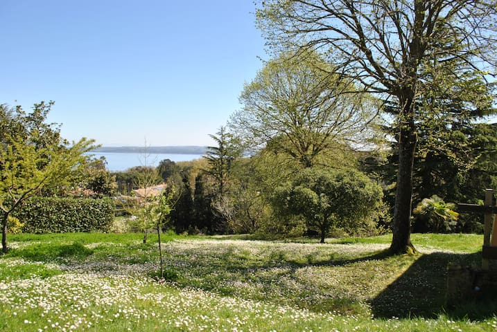 Villa by the Lake of Bracciano