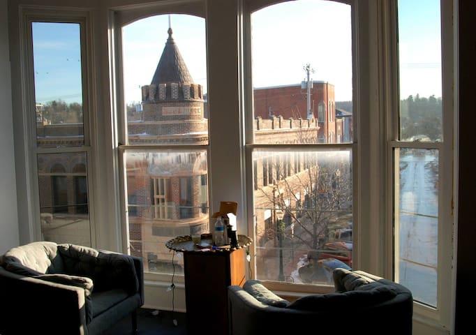 Midcentury Modern Loft Living
