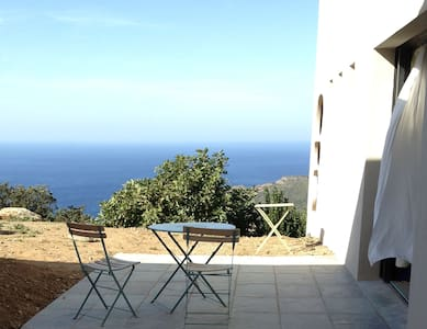 Chambre avec vue exceptionnelle mer - Morsiglia