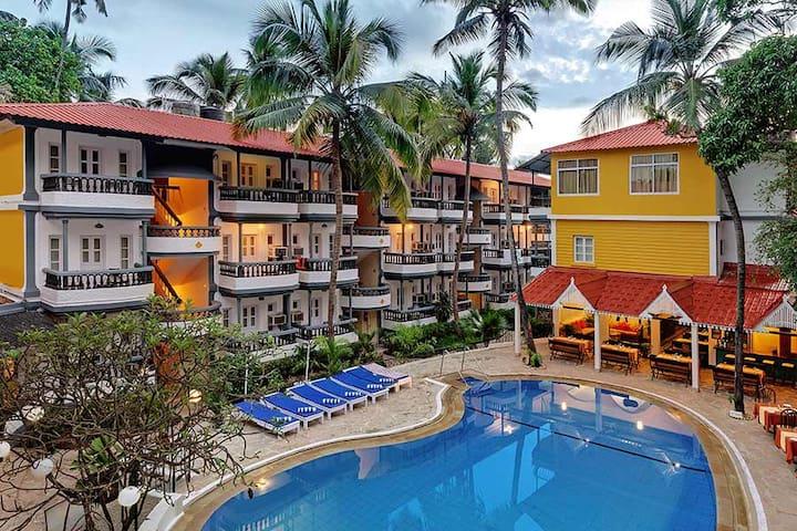 Baga Resort 10 * 1 Bedroom Apartments near Tito's - Calangute Beach - Apartamento