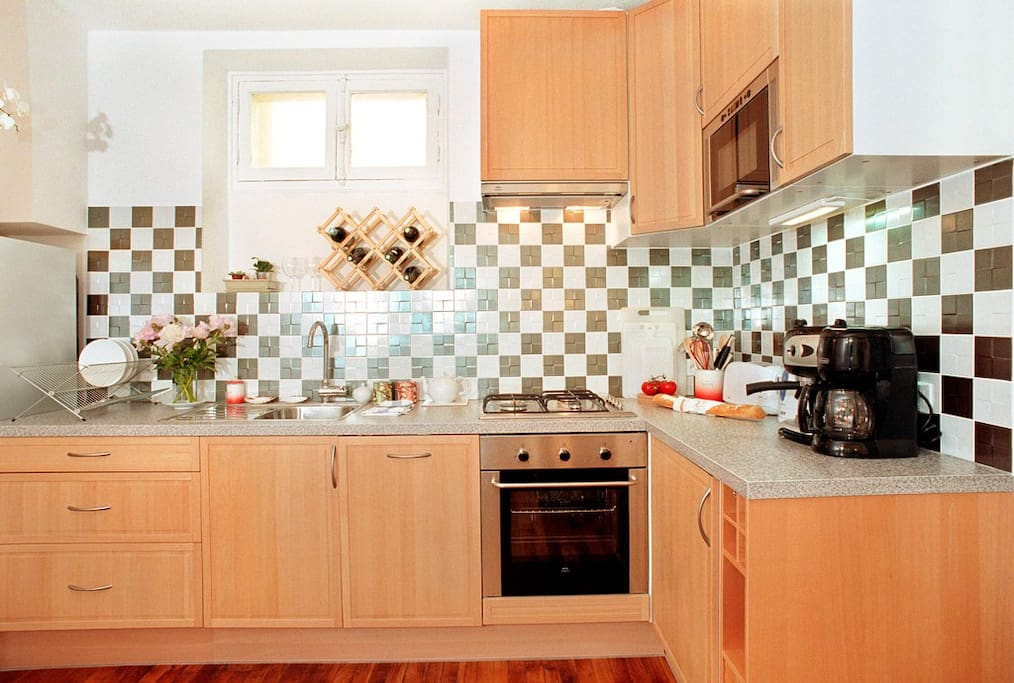 New American-style kitchen