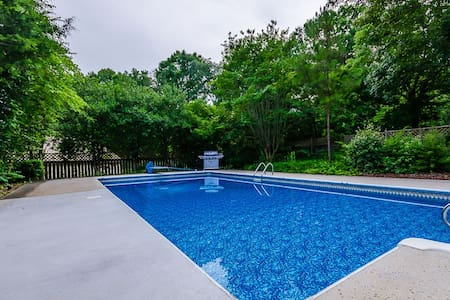 Stunning 4 BDR Mansion, 1 Acre Pool - Conyers - House