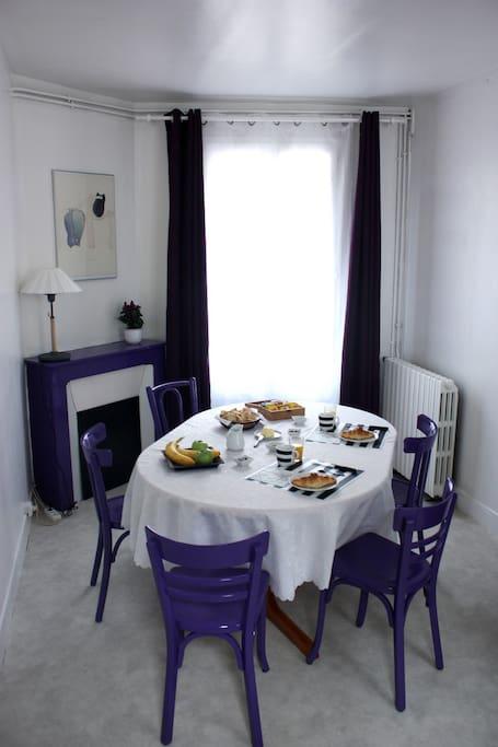chambre d 39 h te tour eiffel chambres d 39 h tes louer paris le de france france. Black Bedroom Furniture Sets. Home Design Ideas