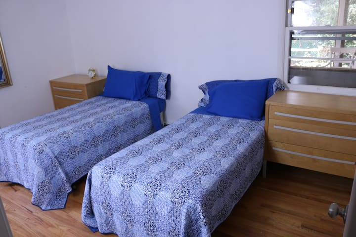 Second Bedroom with 2 Twin beds