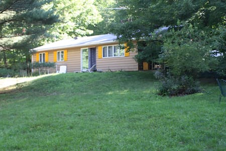 Peaceful home near Lake Taghkanic - Ancram - Talo