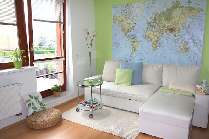 Apartment with terrace in park! - Prague - Appartement