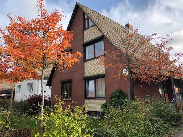 Gemütliche Ferienwohnung am Stadtrand von Hamburg