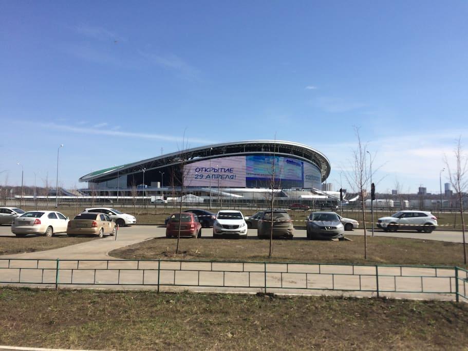 Stadium Kazan-Arena.