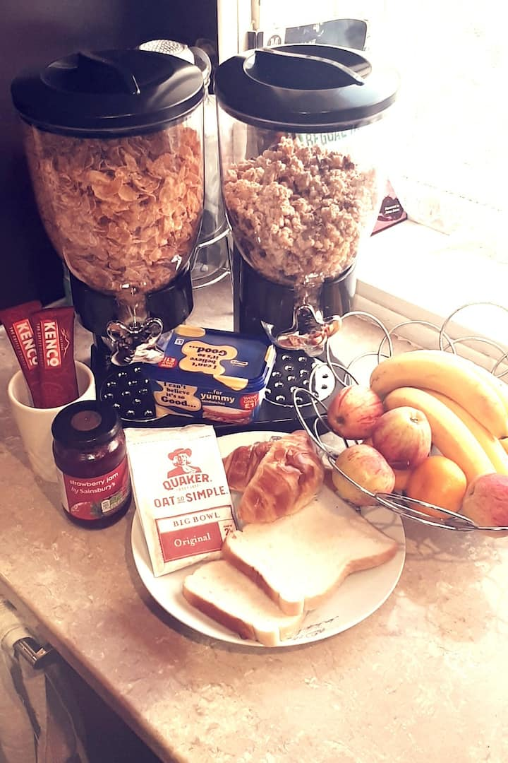 Home away from Home - With continental breakfast.