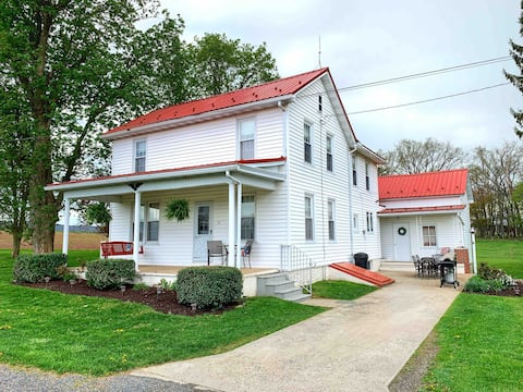 Farmhouse in the Valley on 50-acre Working Farm