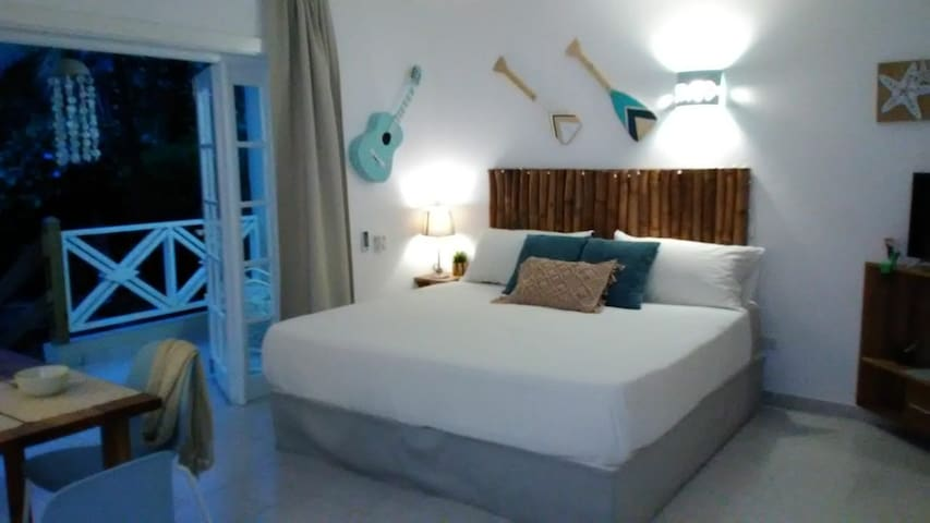 Casita Acacia.. A blue dream Ballenas beach