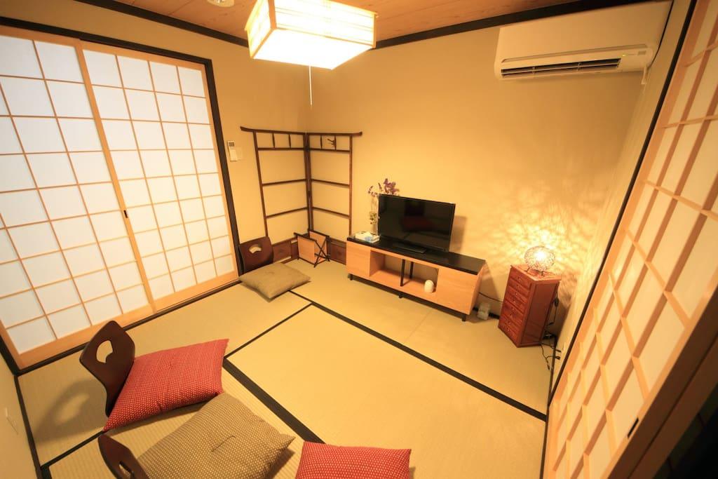 茶室,日本高清晰电视